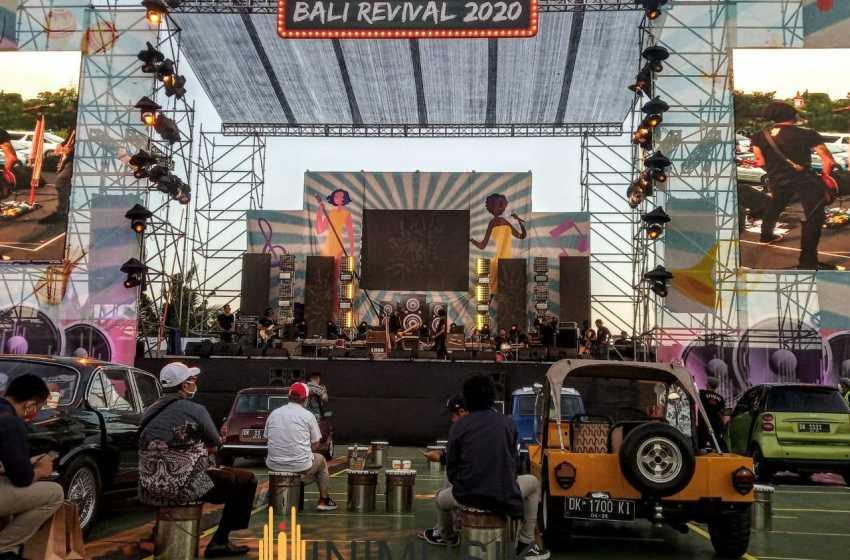 Keseruan Bali Revival 2020, Nonton Konser Era Baru